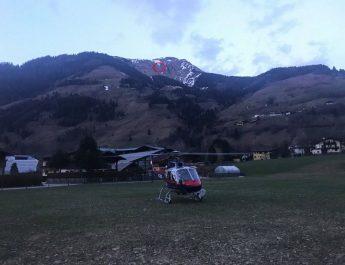 Bergeeinsatz der Bergrettung Rauris und der Flugpolizei am Grubereck