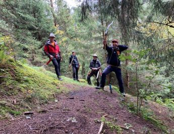Einmal was Anderes – Bogenschießen mit dem Jagdbogenclub Rauris