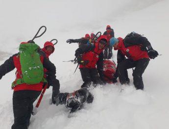Langwieriger Bergeeinsatz bei tiefwinterlichen Verhältnissen auf 3.000m für die Bergrettungen Rauris und Fusch