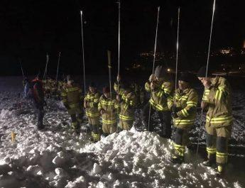 Gemeinsame Übung Feuerwehr Rauris mit LZ Wörth und Bergrettung