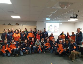 Jahreshauptversammlung der Rauriser Bergretter für das Jahr 2019