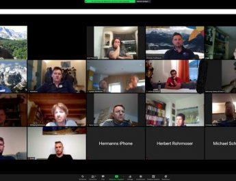 """Schulung über die Auswirkung traumatischer Einsätze und das """"coronagerecht"""" mittels Videokonferenz"""
